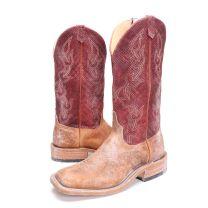 BootDaddy Anderson Bean Mens Navajo Chex Cowboy Boots