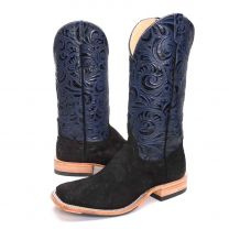 BootDaddy Anderson Bean Mens Midnight Tide Ostrich Boots
