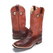 BootDaddy with Double H Mens Cognac Cowboy Boots