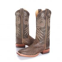 BootDaddy with Justin Mens Full Quill Ostrich Cowboy Boots