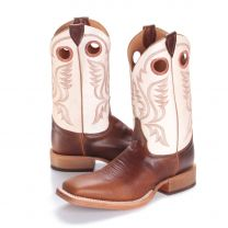 BootDaddy with Justin Mens Sienna Square Toe Cowboy Boots