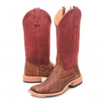 BootDaddy Anderson Bean Mens Kudu Full Quill Ostrich Boots