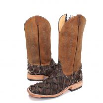 BootDaddy Anderson Bean Mens Rustic Big Bass Boots
