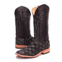 BootDaddy Anderson Bean Mens Slate Big Bass Cowboy Boots