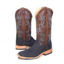 BootDaddy Anderson Bean Mens Full Quill Ostrich Boots