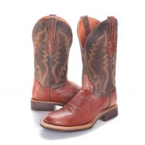 BootDaddy with Dan Post Mens Smooth Ostrich Boots Cognac