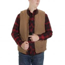 BootDaddy Ranch Mens Tan Canvas Concealed Carry Vest