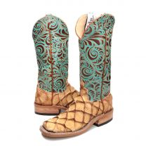 BootDaddy with Anderson Bean Womens Turquoise Big Bass Boots