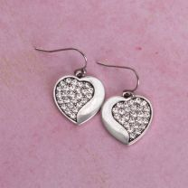 BootDaddy with Montana Silversmiths Wave Heart Earrings