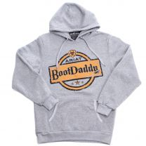 BootDaddy with Ariat Unisex Western Logo Hoodie Gray