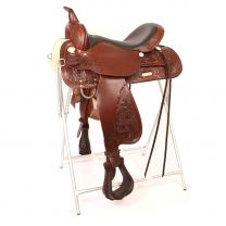 """Circle Y High Horse Mineral Wells Trail Saddle (16"""", Wide Tree)"""