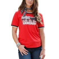 Cruel Womens Dibs on the Ranch T Shirt