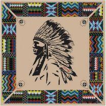 Hooey Quanah Aztec Satin Wild Rag Bandana