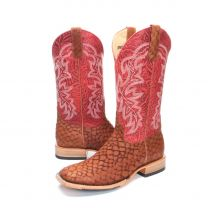 BootDaddy Horse Power Mens Cognac Lochness Cowboy Boots