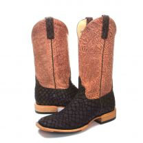 BootDaddy Horse Power Mens Brown Lochness Cowboy Boots