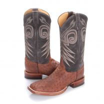 BootDaddy with Justin Mojave Full Quill Ostrich Boots