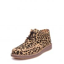 Justin Womens Suede Leopard Print Casual Shoes JL203