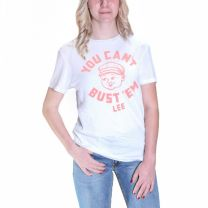 Lee Womens Cant Bust Them Retro T Shirt
