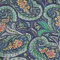 Western Colorful Paisley Silk Wild Rag