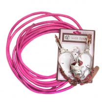 Little Outlaw Pink Rope Spurs and Badge Toy Set