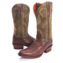 BootDaddy with Dan Post Mens Square Toe Cowboy Boots Green