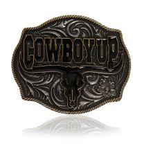 Montana Attitude Cowboy Up Buckles