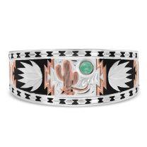 Montana Silversmiths Womens Cactus Cuff Bracelet