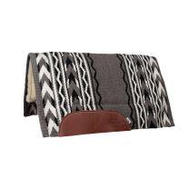 Arrowhead Fleece Bottom Saddle Pad (Grey/Black)