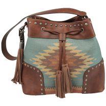 Blazin Roxx Womens Zapotec Aztec Concealed Carry Purse