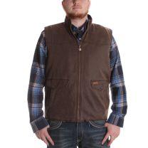 Outback Mens Rustic Landsman Concealed Carry Vest Brown