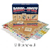 Rodeo Opoly Western Board Game