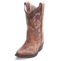 Smoky Mountain Children Girls Floral Embroidered Cowboy Boots