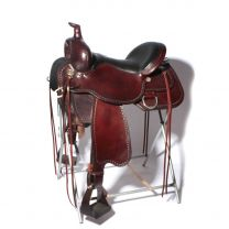 "Circle Y Tru-Fit Trail Saddle (17"", Medium Tree)"
