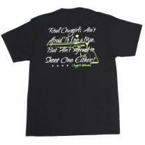 Cowgirls Unlimited Womens Love a Man T Shirt Black