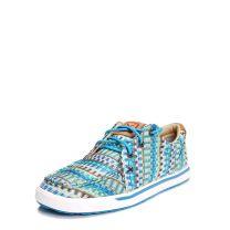 Twisted X Womens Turquoise Kicks Casual Shoes WCA0027