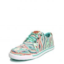 Twisted X Womens Hooey Loper Pastel Casual Shoes WHYC010