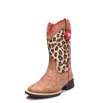 Twister Children Girls Leopard Cowboy Boots 4443308