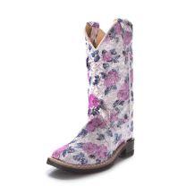 Old West Children Flower Girl Western Boots VB9151