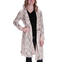 Vocal Womens Crochet Lace Cardigan Jacket