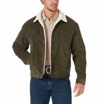 Wrangler Mens Farmer Sherpa Lined Corduroy Jacket