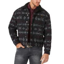Wrangler Mens Sweetbriar Sherpa Lined Jacquard Jacket