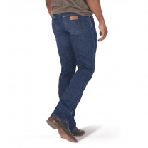 Wrangler Mens Retro Premium Dark Slim Straight Jeans
