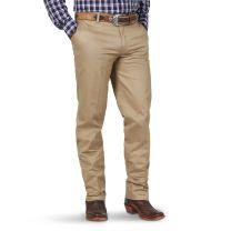 Wrangler Mens Casual Flat Front Khaki Pants