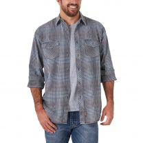 Wrangler Mens Retro Premium Long Sleeve Button Down Shirt
