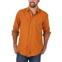 Wrangler Mens Retro Premium Amber Snap Shirt