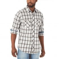 Wrangler Retro Premium Mens Plaid Button Down Shirt