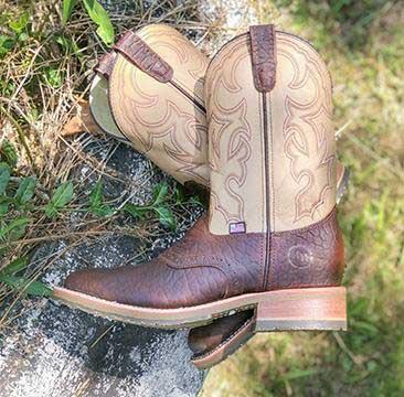 Men's Rubber Sole Boots
