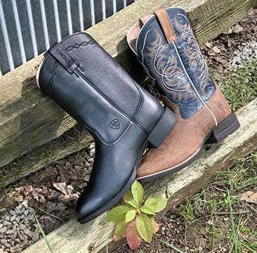 Men's Roper/Stockman Boots