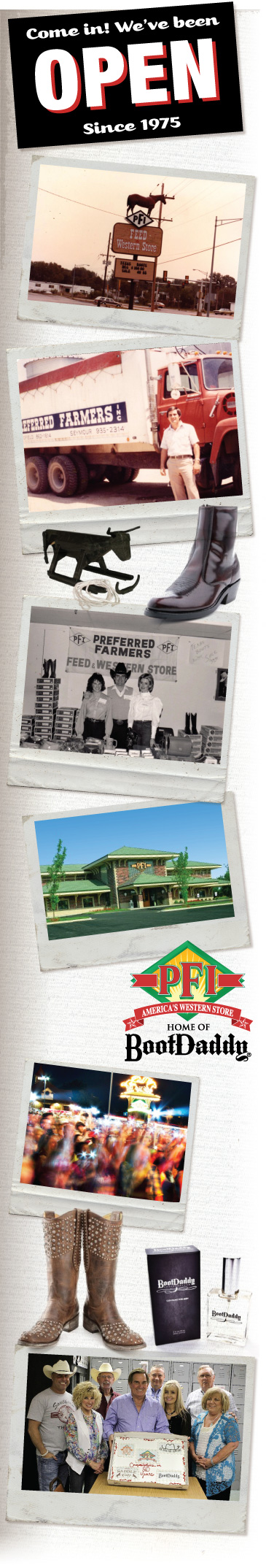 A history of PFI Western Store