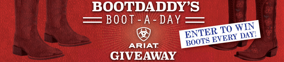 Boot-A-Day Giveaway